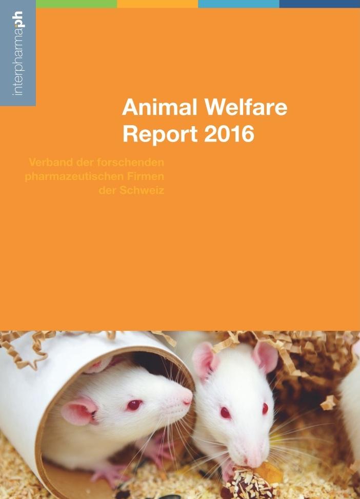 Jahresbericht zu den Tierschutz-Aktivitäten der Interpharma-Firmen