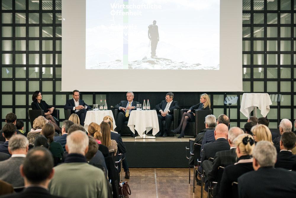 Dialogue sur l'Europe: manifestation à Zurich le 21 novembre 2016