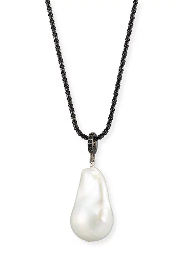 Margo Morrison Pearl Drop Necklace