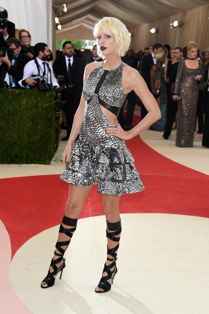 Taylor Swift Met Gala Look