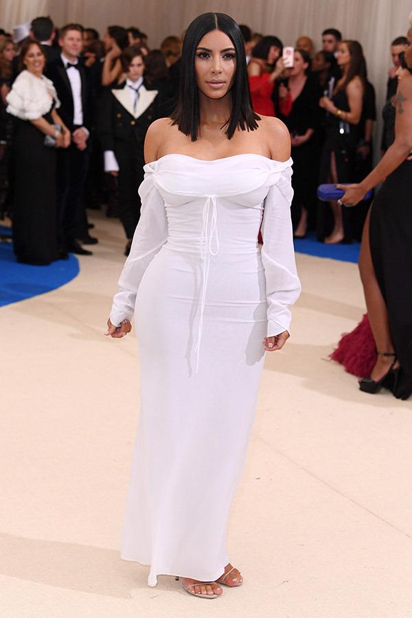 Kim Kardashian West in Vivian Westwod - Image from NewYorkTimes.com