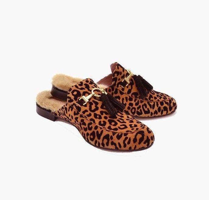 Fur Slide Shoes -