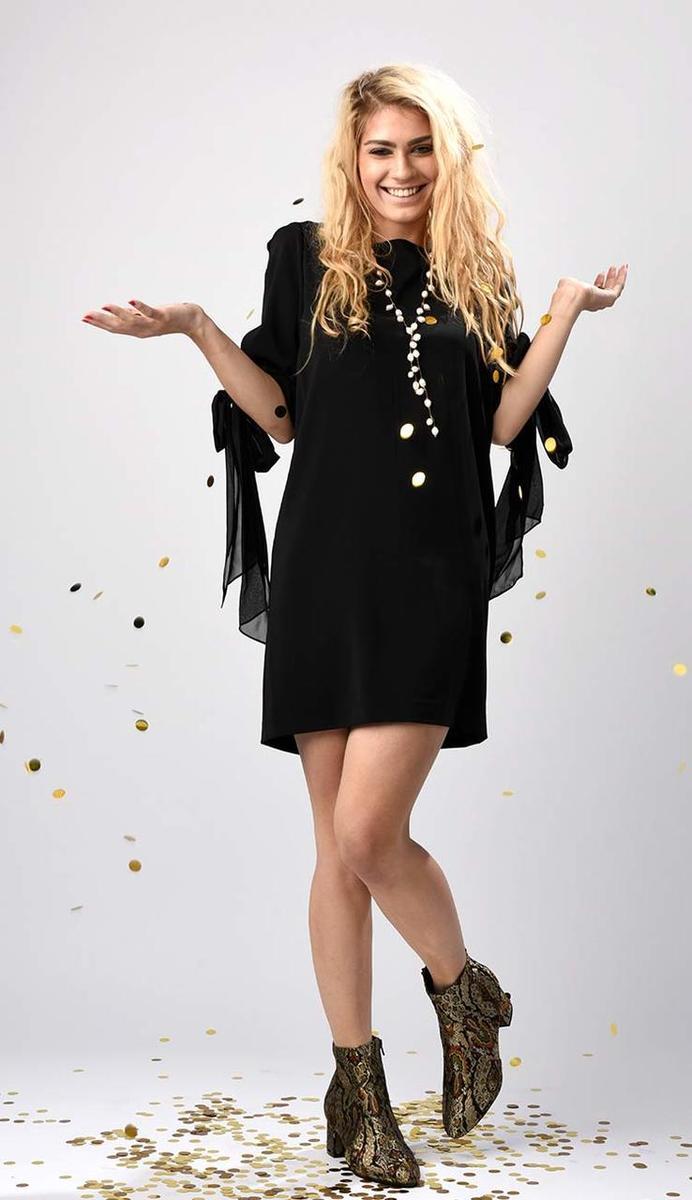 Bagley Mishka Chiffon Sack Dress -