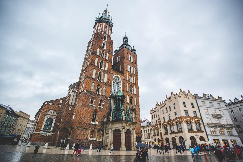 Náměstí Krakow