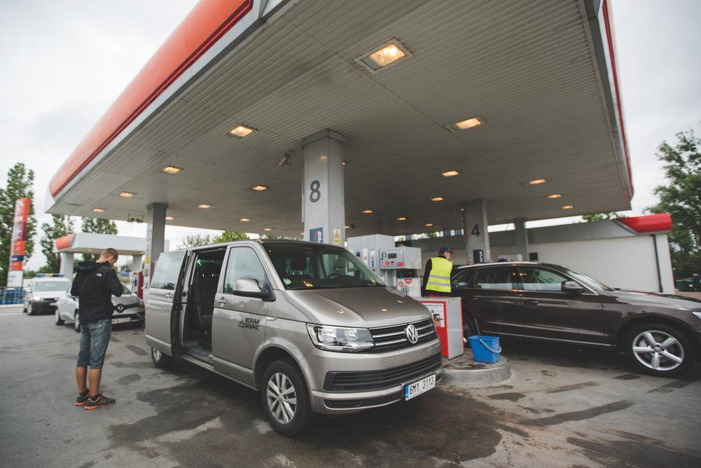 Naše VW Caravelle LONG