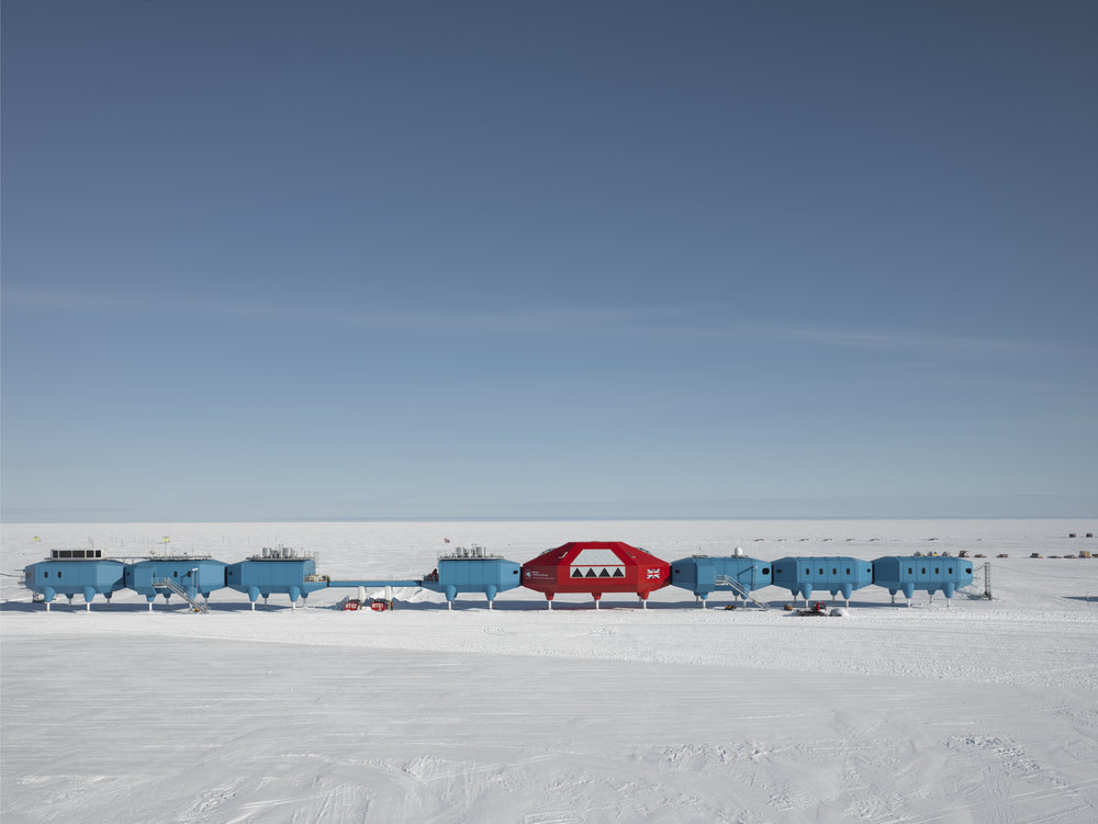 Photo credit: The Halley VI Polar Research Station by James Morris