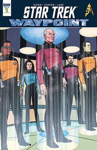 Star Trek Waypoint Cover