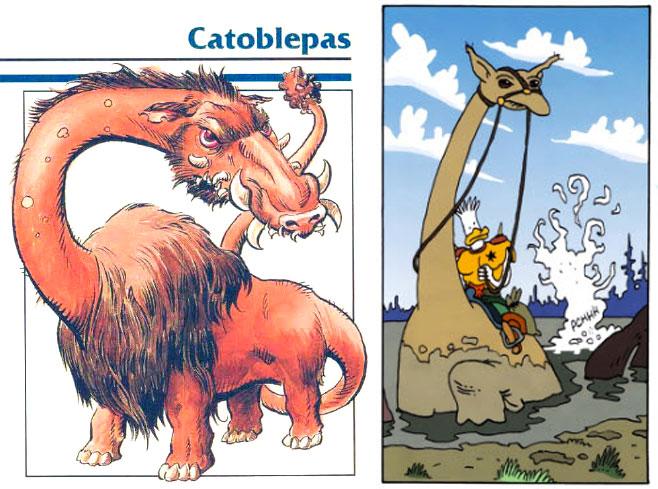 The Hipplodontus or Catoblepas?
