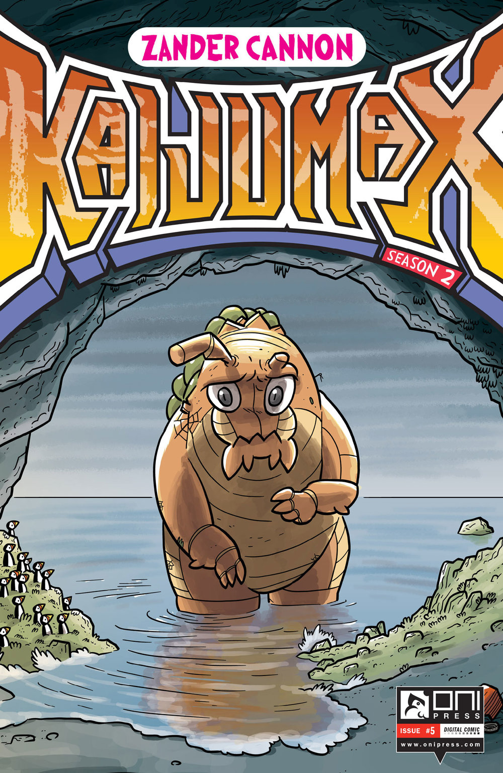 Kaijumax Season Two #5 Cover