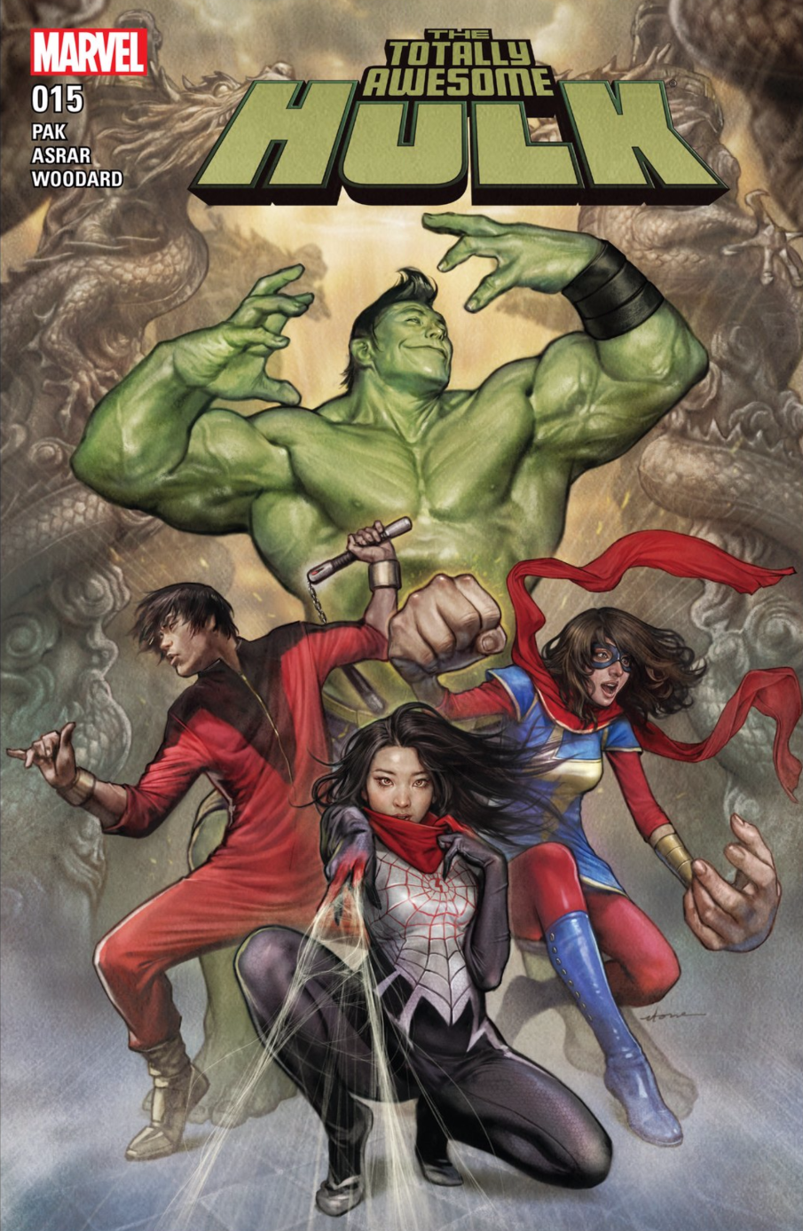 The Totally Awesome Hulk #15 Cover