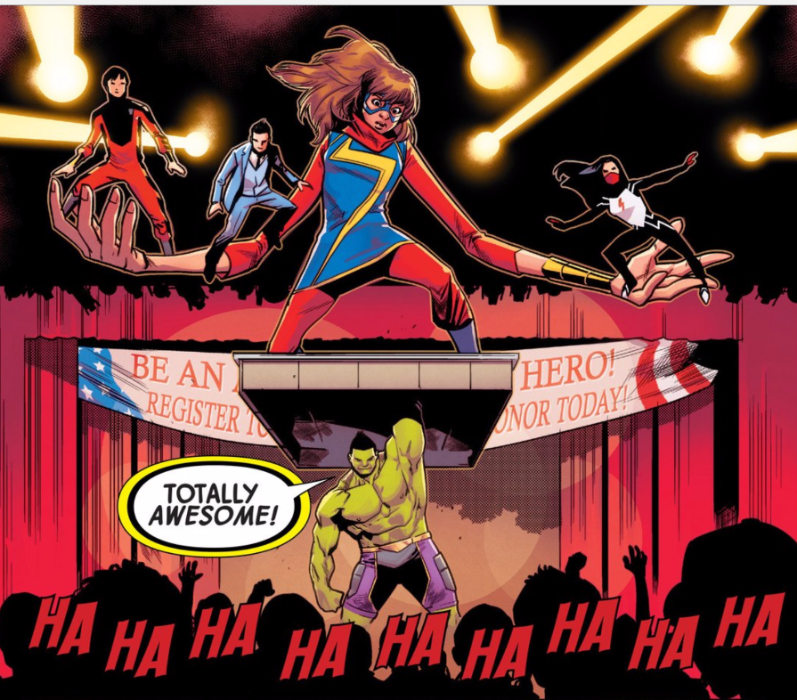 Ms Marvel & Amadeus Loom Large