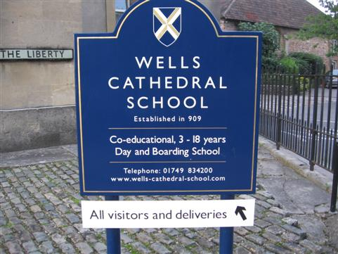 Wells Cathedral School can trace its roots back to AD909