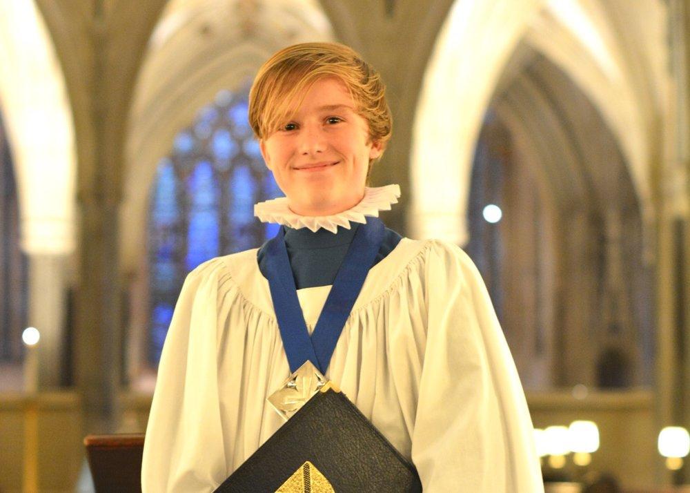 Congratulations to Alexei, our new Deputy Head Boy Chorister
