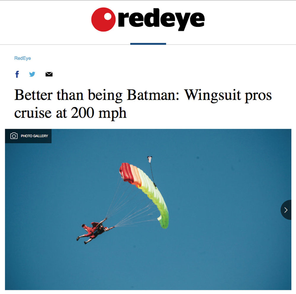 Redeye Chicago - Wingsuit Article 2015 - Joe Ridler