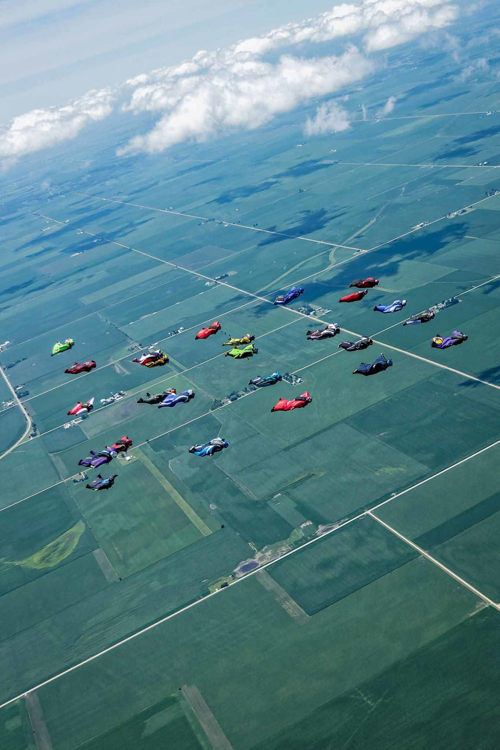 Wingsuit Formation Record 26-Way - USPA Illinois State Record