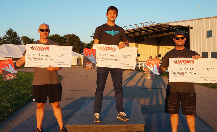 2017 WOWS CSC – Distance Podium
