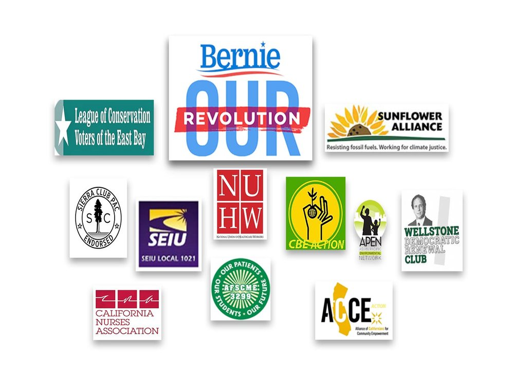 These are just a few of the many great organizations that support Ben's candidacy.