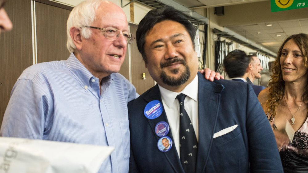 Ben Choi was personally endorsed by Bernie and Our Revolution.