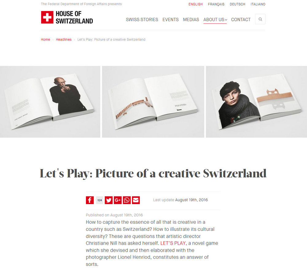 houseofswitzerland.org, 19.8.2016