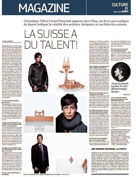 La Liberté, 17.9.2016