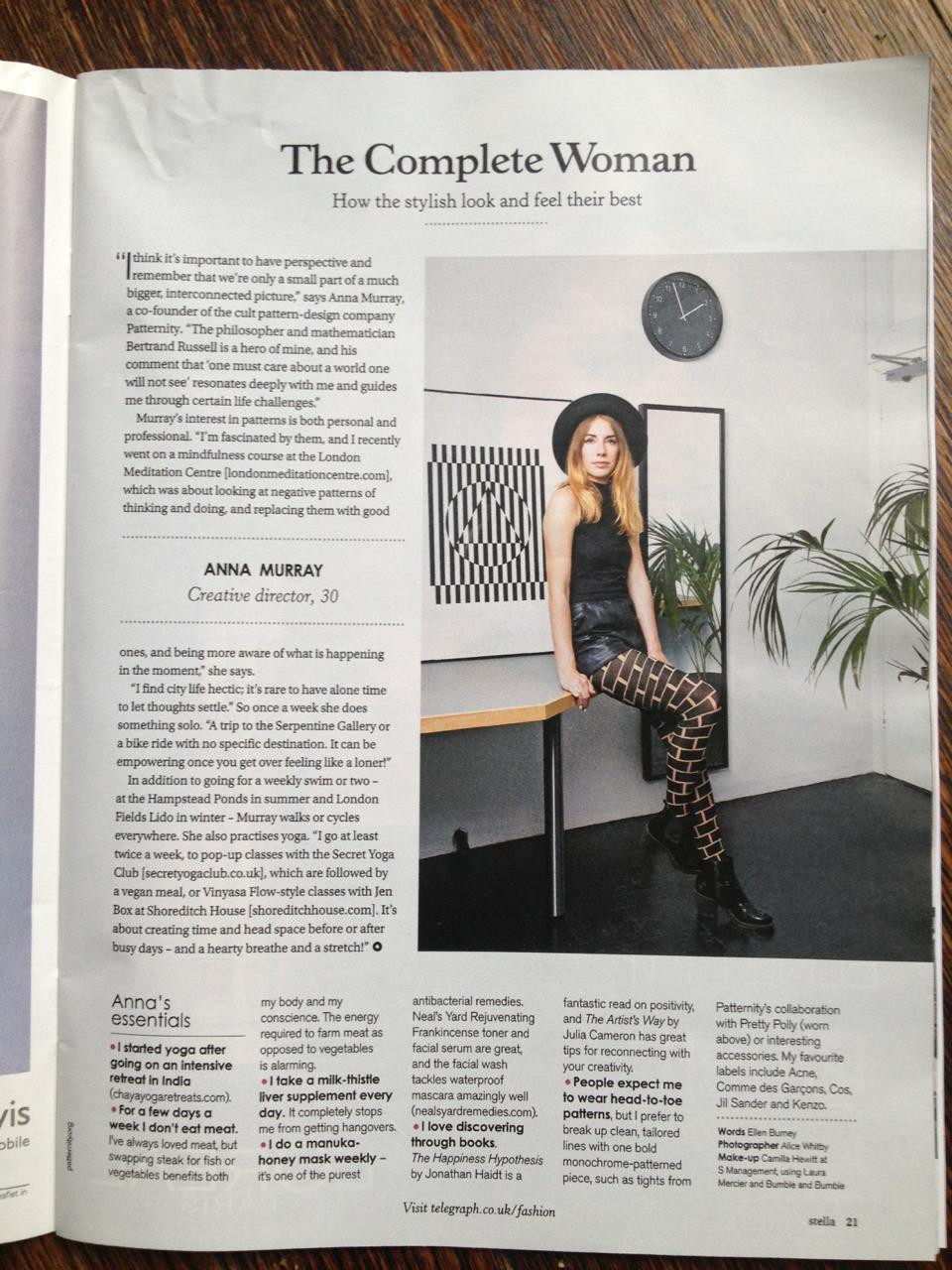 Anna Murray- Stella magazine