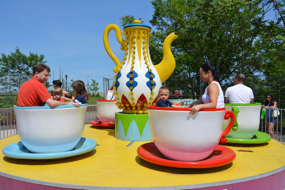 Mini Tea Cup – Staten Island, New York  Certified and refurbished a Zamperla mini tea cup.