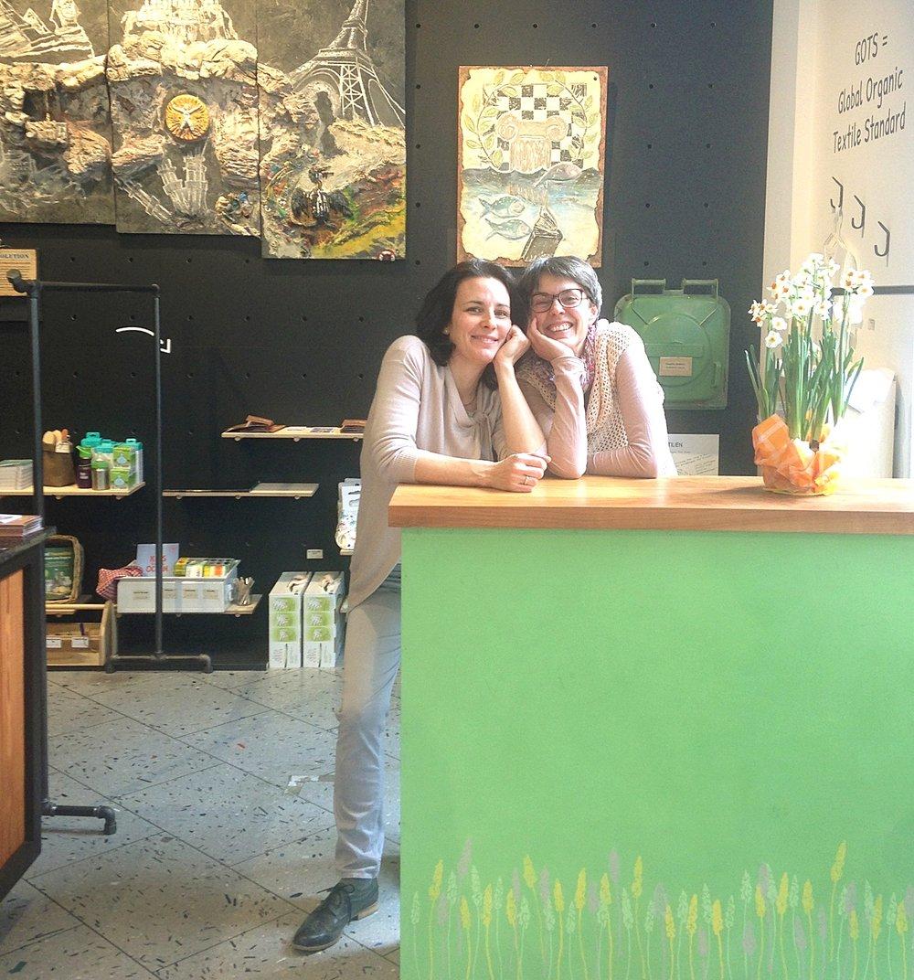 Sabine und Judit im Dekagramm