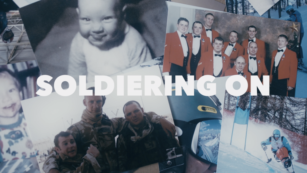 SOLDIERING ON (2018) - Documentary Short                                                director, cinematographer, editor