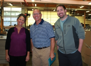 Kelly Baker, JSI Business Development Manager     Ron DeVries, Vice President of Sales Dr. Stacey Bone, DVM & PawFriction Co-Founder