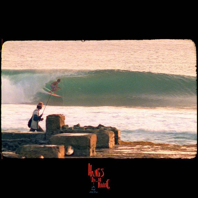 Fisherman and @djones___ - sunset session.  #16mm #surf #film #hangsuponnothing #littleseafilms #etiquettepictures