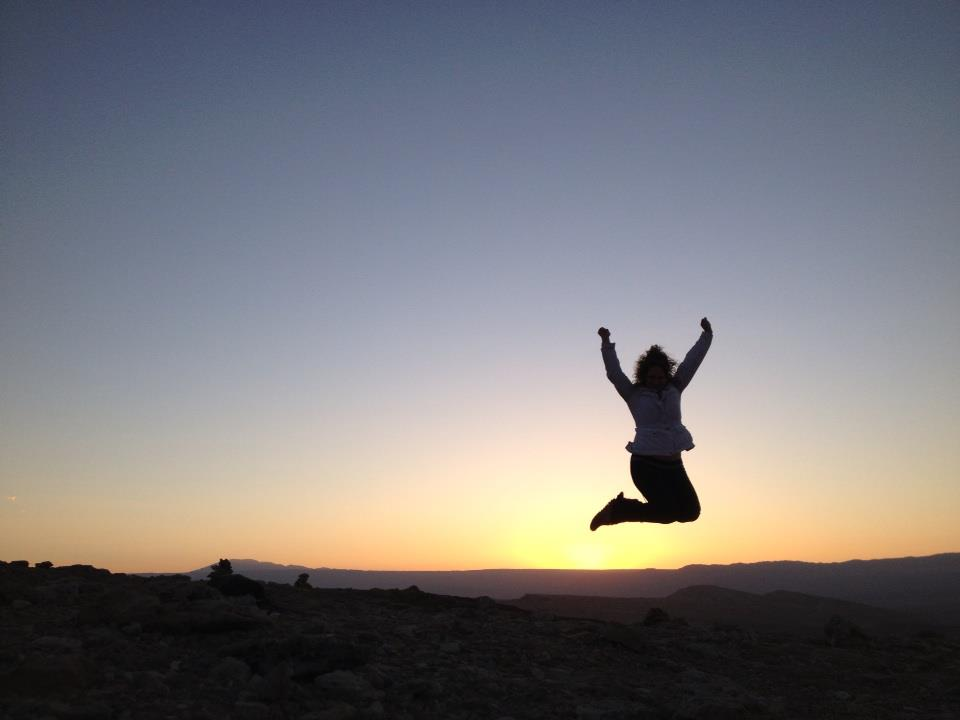 Me at sunset in El Valle de la Luna   (  Valley of the Moon  ) in Northern Chile, 2014