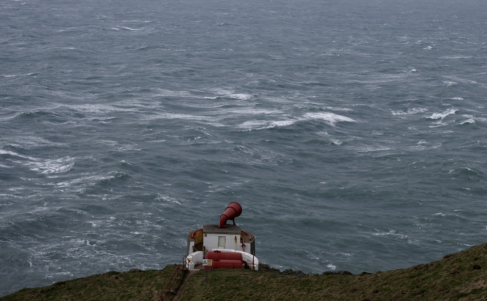 The Mull of Galloway foghorn