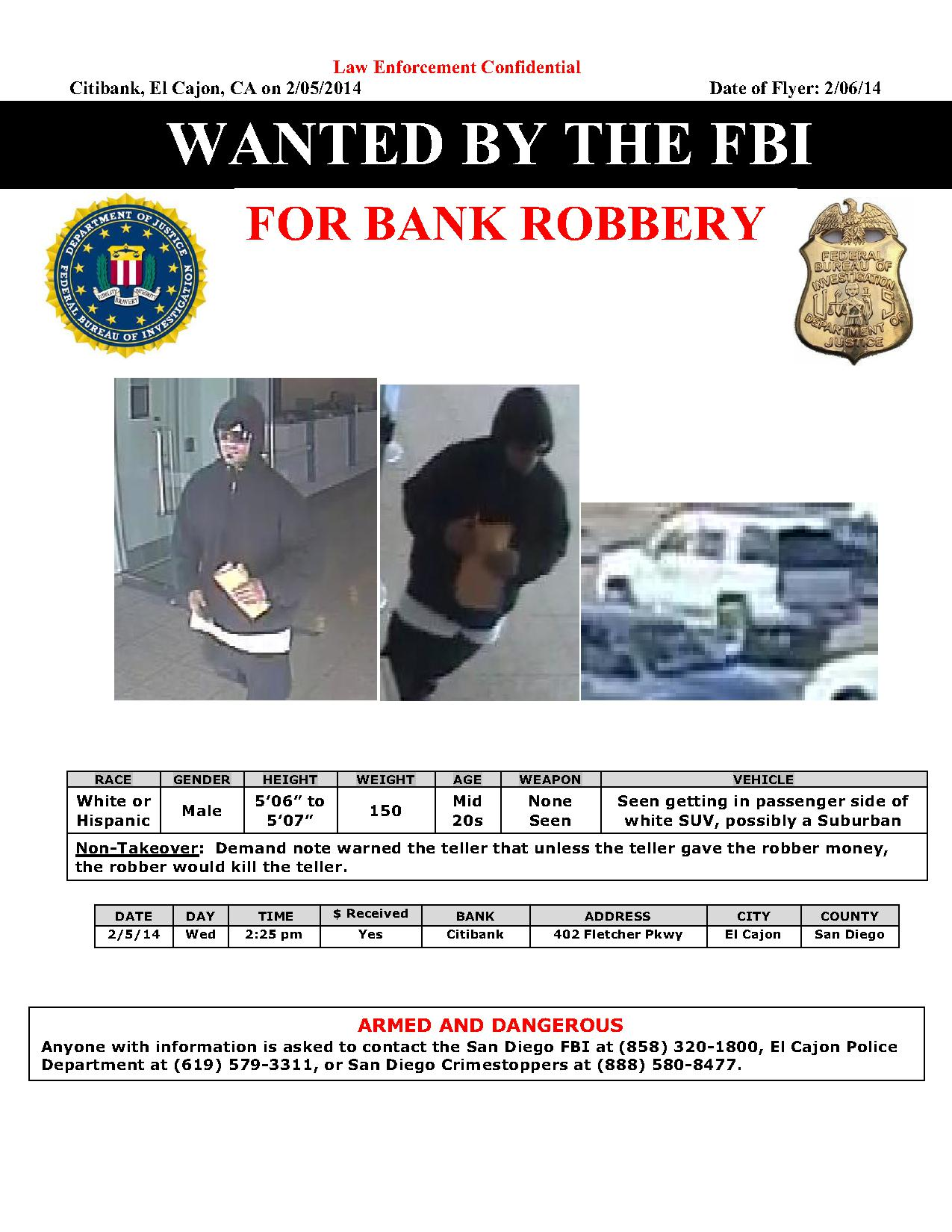 Citibank Fletcher Pkwy - Wanted Flyer for Public (2)_1
