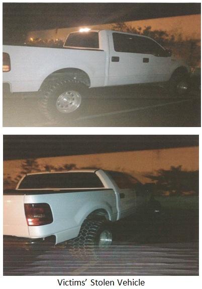 stolen truck columbine xmas eve