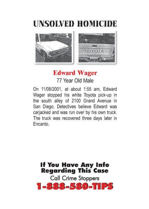 edward wager