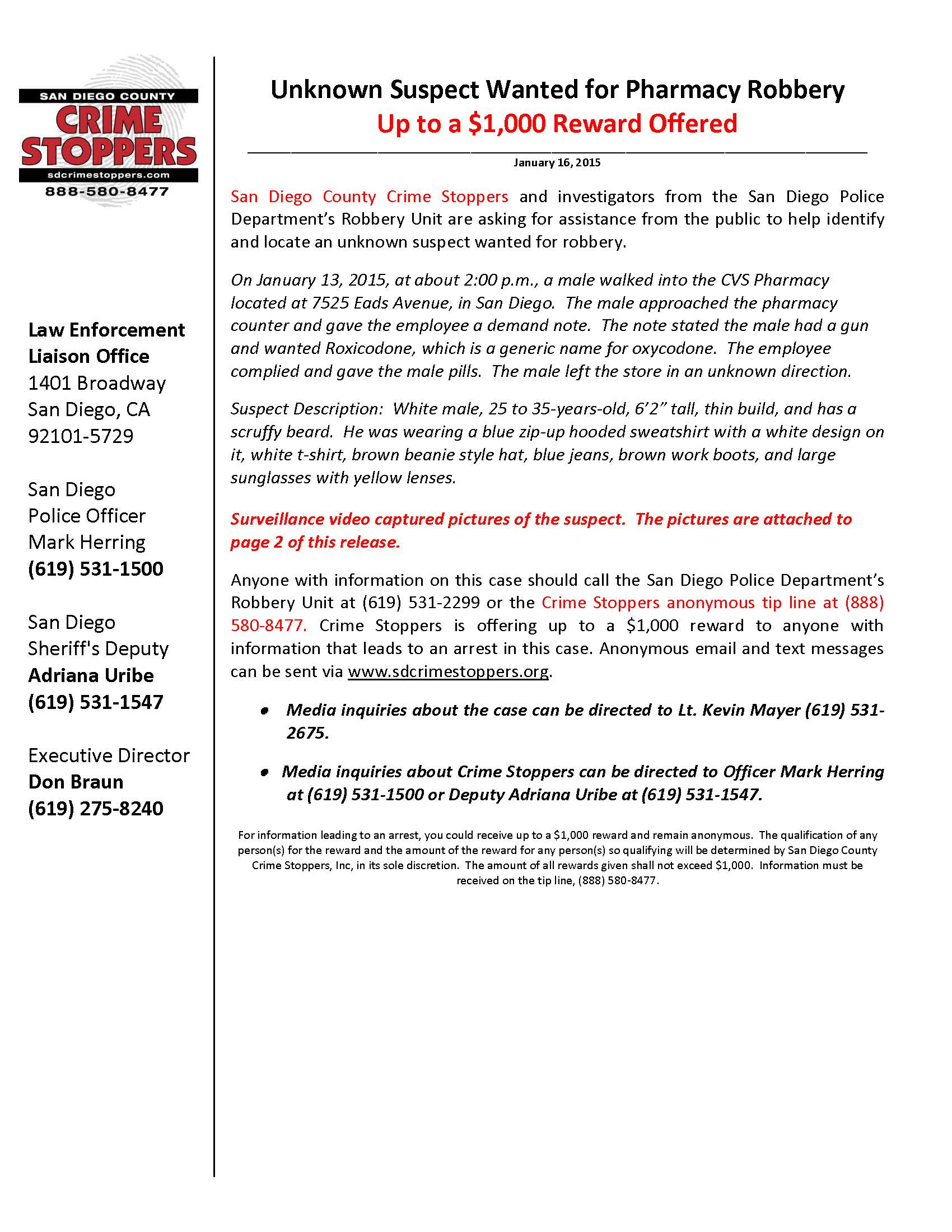 san diego blog sd crime stoppers