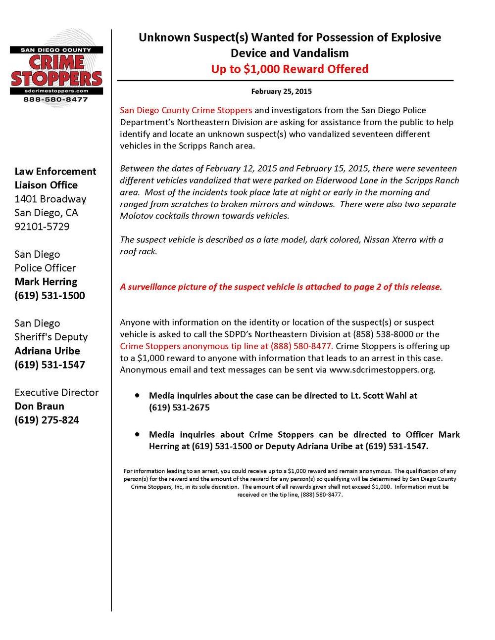 022515 Scripps Ranch Vandalism_Page_1