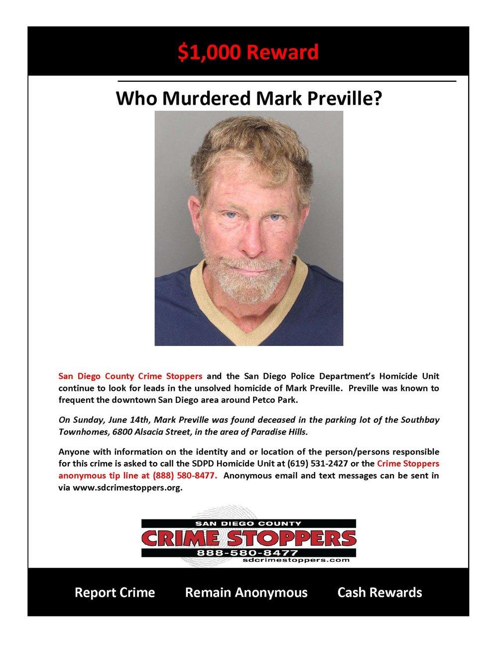 070215 Who Murdered Mark Preville