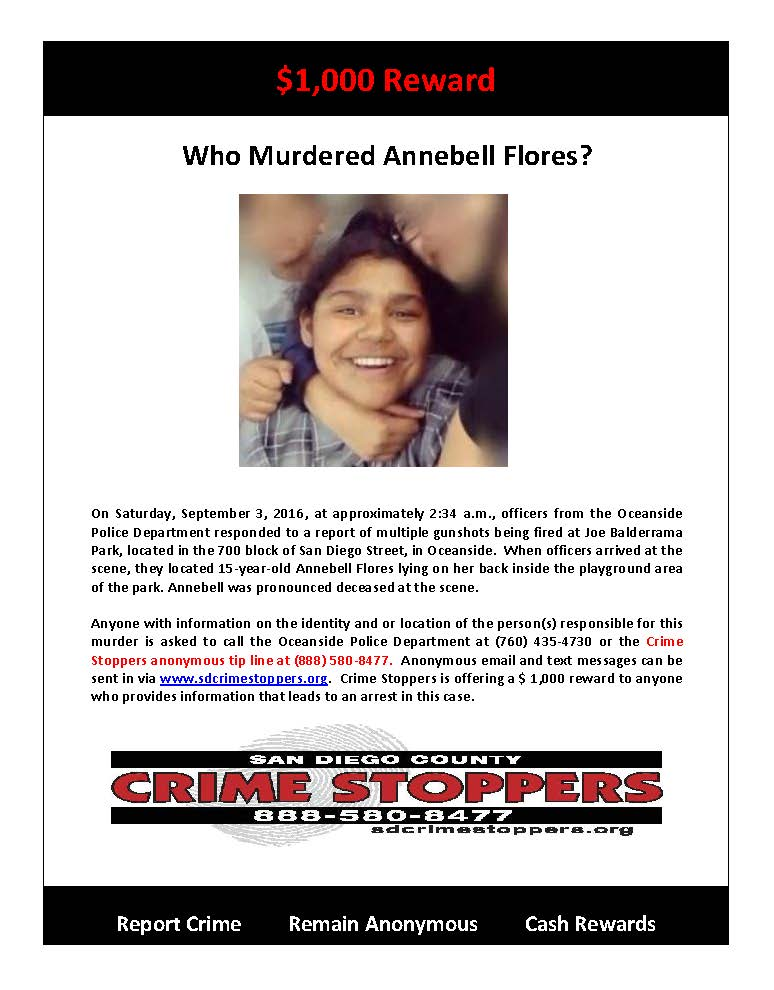 090916 Who Murdered Annebell Flores
