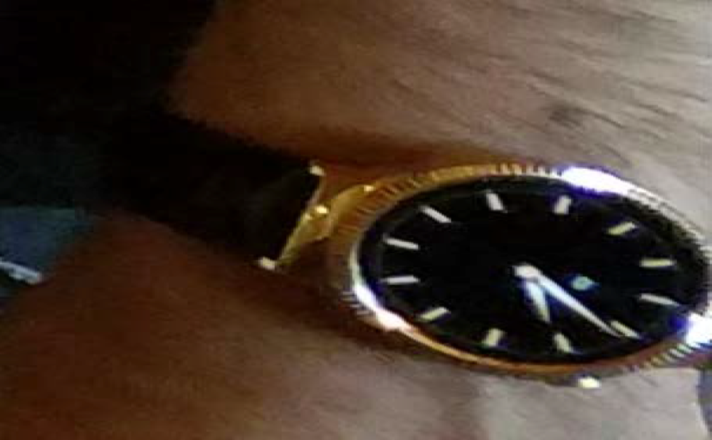 Photo of Victims stolen Android digital watch
