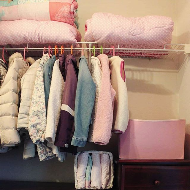 Oldy/goody. Happy Holidays! . . Behold! A functional and beautiful closet for kids. All other clothes got folded so we dedicated the hanging part of this closet to coats. This is now the only home for kids coats. No more foyer business or off season storage. We put everything in their space and they now only have one place to put their stuff.  How to keep up with this fool proof method? Gather up (or have your kids gather up) all their belongings in a pile in each room. Then have them pick what is theirs and put it away before TV time  it takes some getting used to but I know first hand they do it! . .  #getorganized #organizing #organized #organizedlife #organizetheworld #professionalorganizer #decluttering #homeorganization #organising #organised #tidyspace #clutterfree #closetorganized #kidscloset #tidyspace #thelifechangingmagicoftidyingup #seeksimplicity #smallspacebigstyle #declutter  #homeorganizationtips