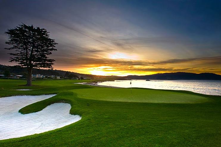 Pebble Beach Golf Course Wallpaper