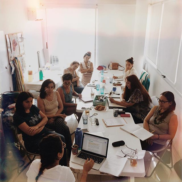 2º día del #workshop de emprendedores de #elviraeslavidareal en #buenosaires en el estudio de @luciana_marrone_ 💪🏻🚀🇦🇷