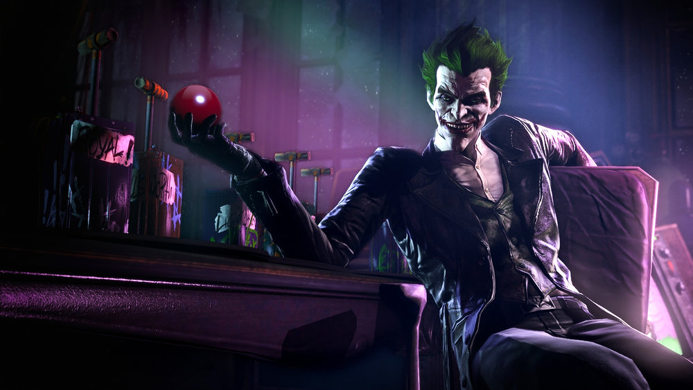 "Not so humble beginnings:  Arkham Origins ' story mode gives surprising insight into the beginning of ""Arkhamverse"" Joker's criminal career, only accentuated by Troy Baker's fantastic vocal performance."