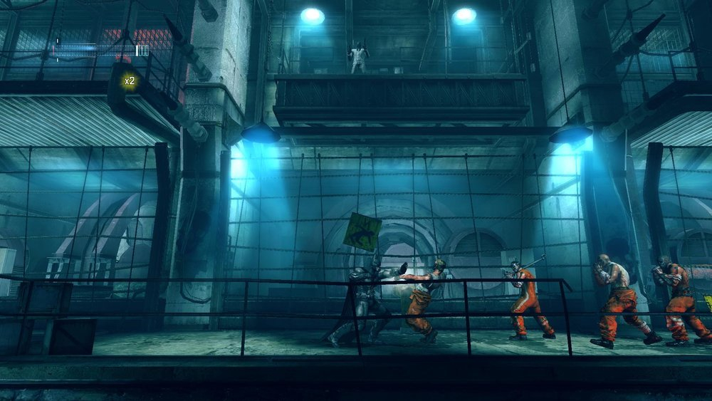 Batman: Arkham Origins Blackgate – Deluxe Editionis 2.5D: while the environments and characters are 3D, gameplay stays on a 2D plane.
