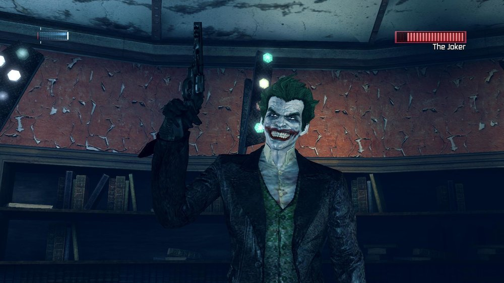 Taking place three months after  Arkham Origins , this game features Batman's second major encounter with the Joker, Penguin, and Black Mask in the  Arkham universe.