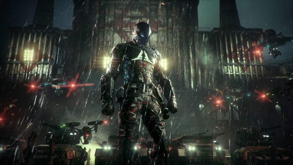 "Much of the main story in the game revolves around the titular ""Arkham Knight:"" a mysterious paramilitary commander who seeks to settle a very personal score with Batman by ending the Dark Knight's life, no matter who or what gets in his way."