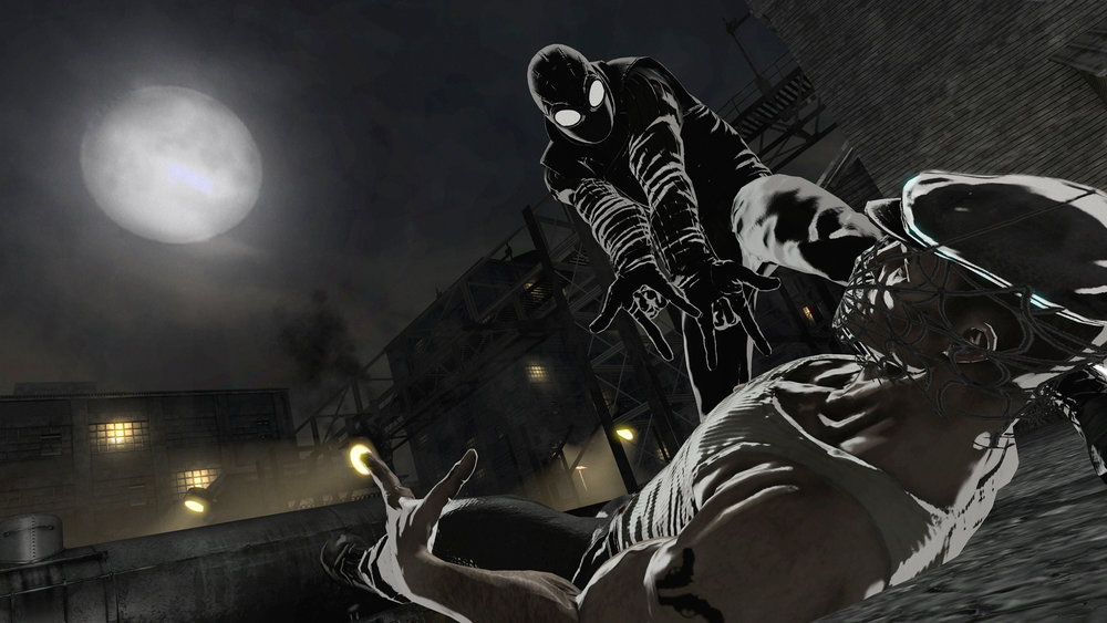 With four different Spider-Men come four different playing styles. While there isn't a big fundamental difference between them all, different emphases — like Spider-Man Noir's reliance on stealth — help make for a varied and satisfying gameplay experience.