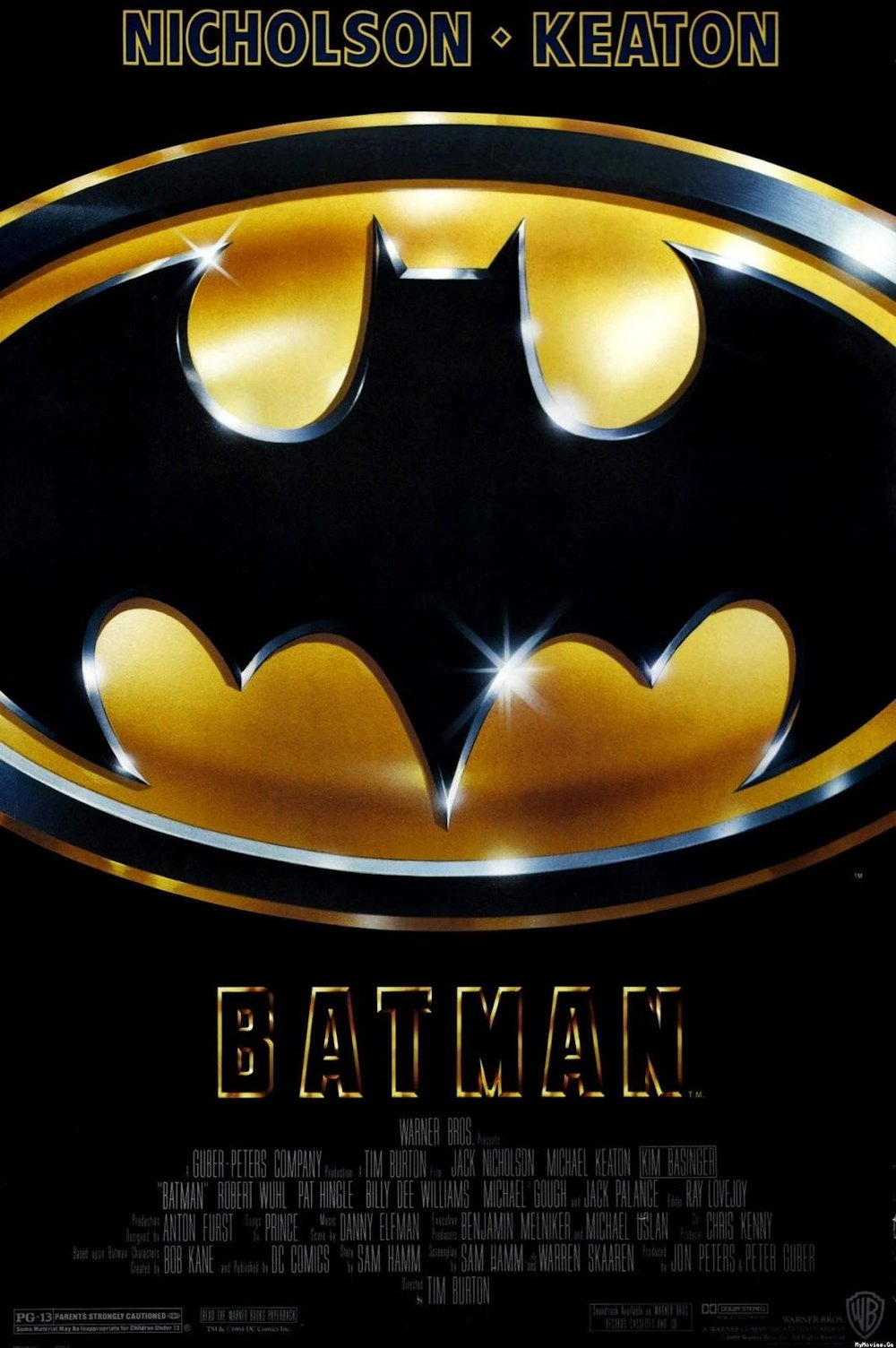 "Batman , released in 1989 and directed by Tim Burton, would define Batman as a ""Dark Knight"" for decades to come."