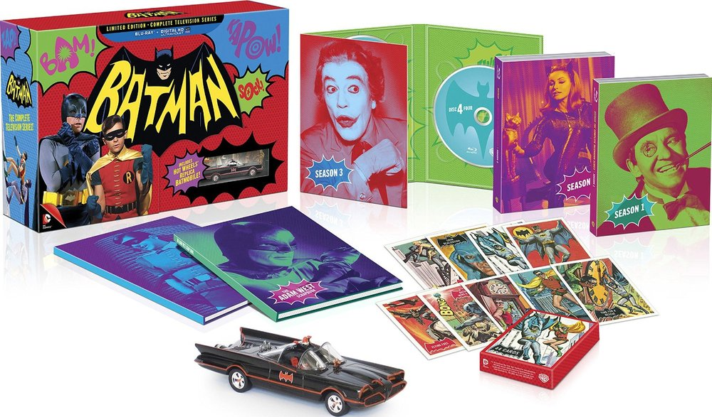 "The limited edition Blu-ray boxed set of ""Batman: The Complete Television Series,"" released in November, 2014."